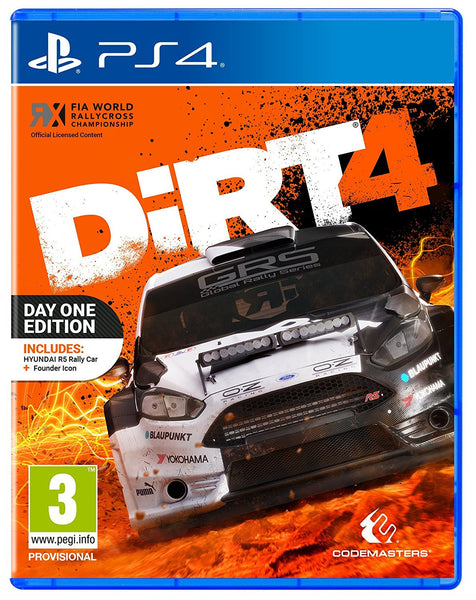 Dirt 4 - Day One Edition - PS4 - Video Games by Codemasters The Chelsea Gamer