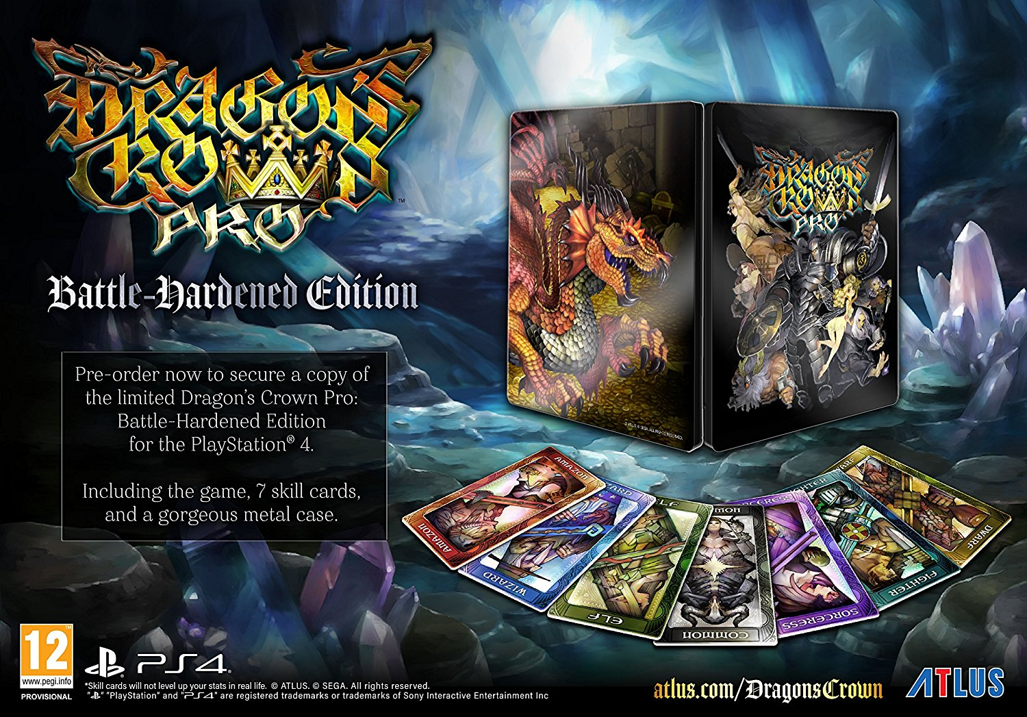 Dragon's Crown Pro Battle Hardened Edition - PS4
