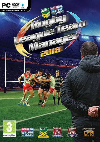 Rugby League Team Manager 2018 - PC