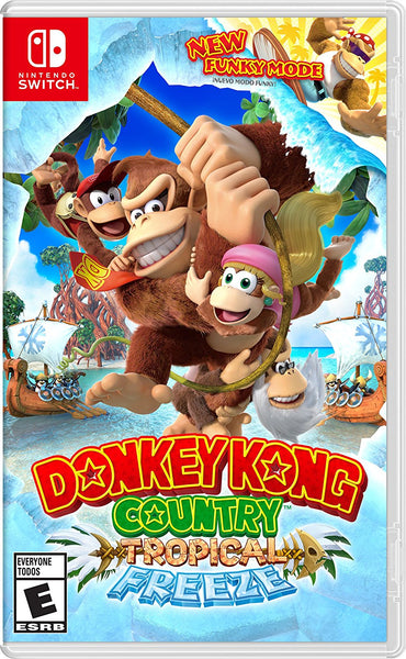 Donkey Kong - Tropical Freeze - Nintendo Switch - Video Games by Nintendo The Chelsea Gamer