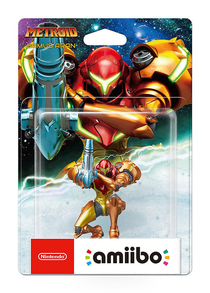 Samus Aran Amiibo - Metroid Collection