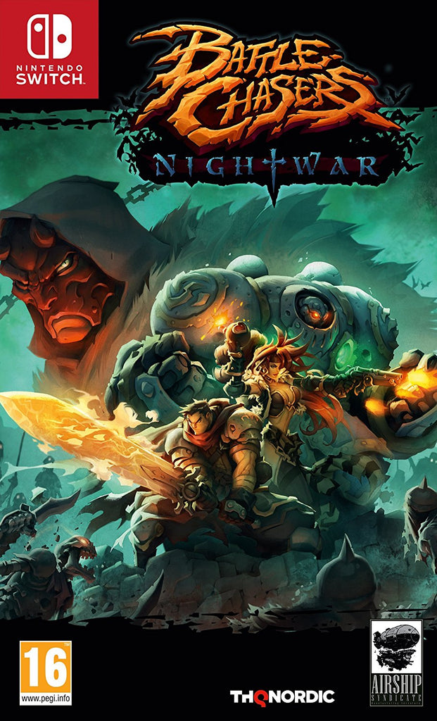 Battle Chasers Nightwar - Nintendo Switch - Video Games by Nordic Games The Chelsea Gamer