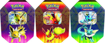 Pokemon TCG Trading Card Elemental Power tin