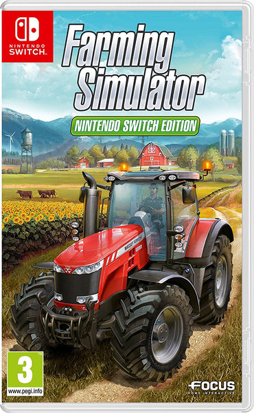 Farming Simulator - Nintendo Switch - Video Games by Focus Home Interactive The Chelsea Gamer