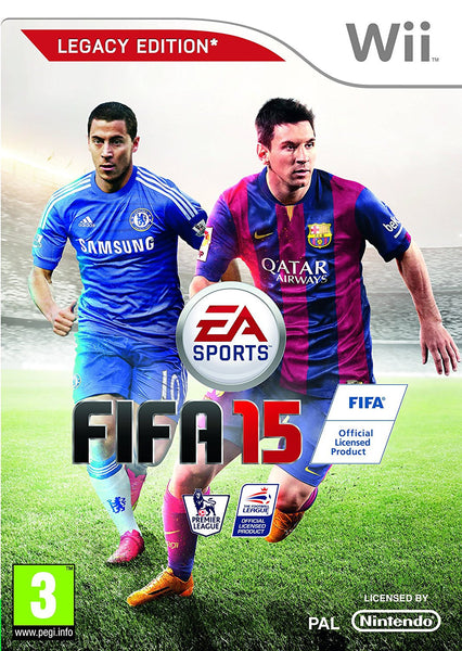 Fifa 15 - Wii U - Video Games by Electronic Arts The Chelsea Gamer