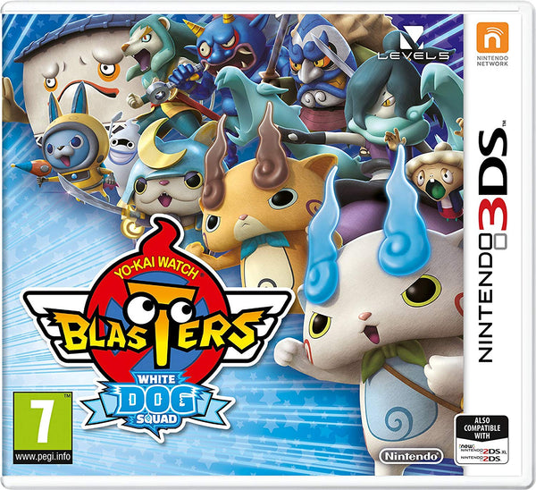 YO-KAI Watch Blasters - White Dog Squad