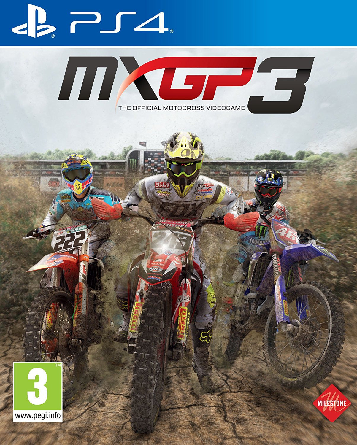 MXGP3 - The Official Motocross Videogame (PS4) - Video Games by Milestone The Chelsea Gamer