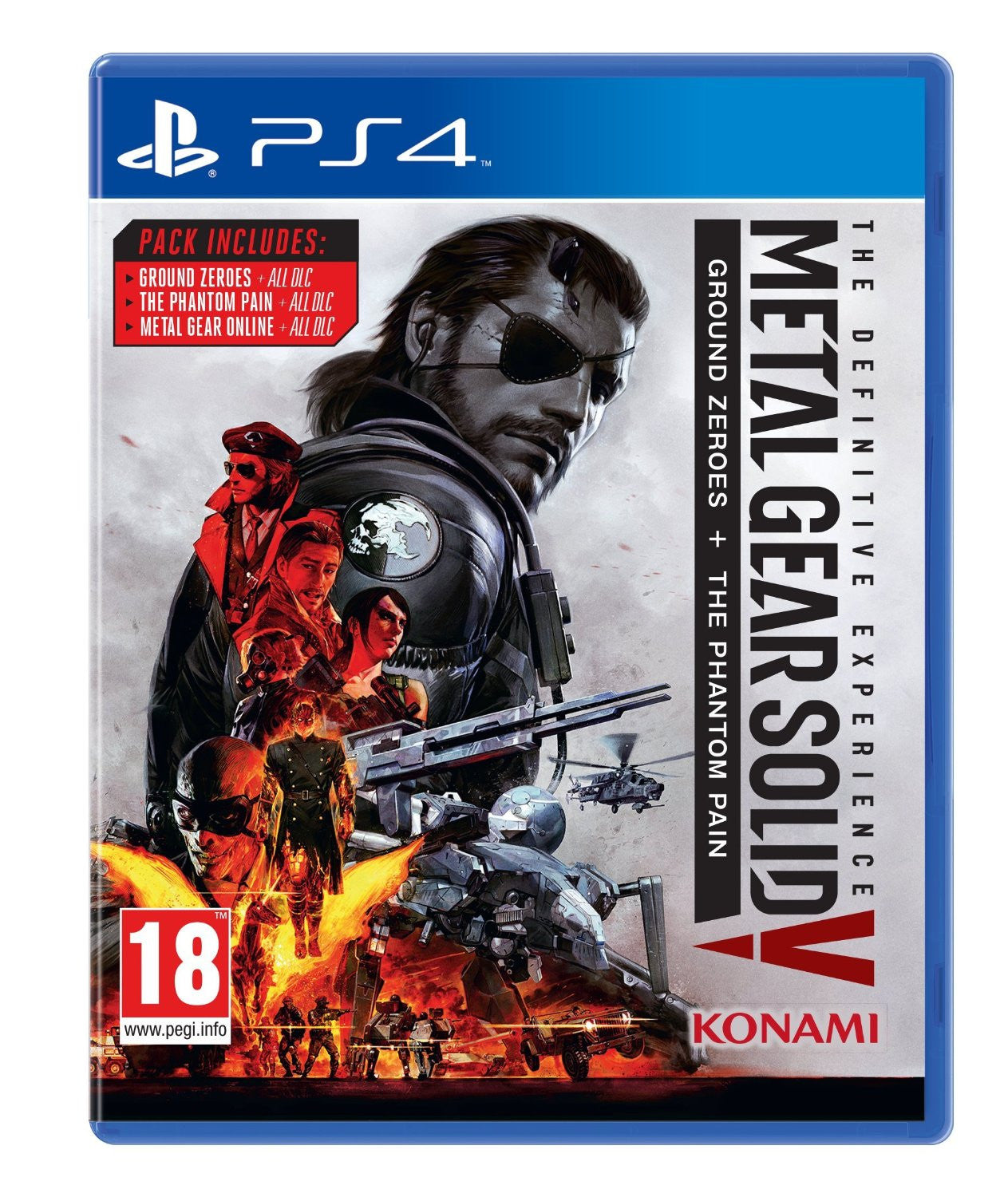 Metal Gear Solid V: The Definitive Experience PS4 - Video Games by Konami The Chelsea Gamer
