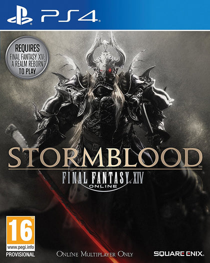 Final Fantasy XIV Stormblood - PS4 - Video Games by Square Enix The Chelsea Gamer