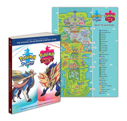Pokémon Sword & Pokémon Shield: The Official Galar Region Strategy Guide