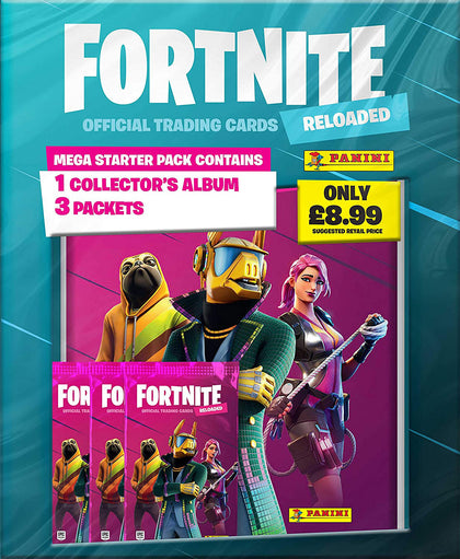 Fornite- Reload Trading Card Starter Collection Pack