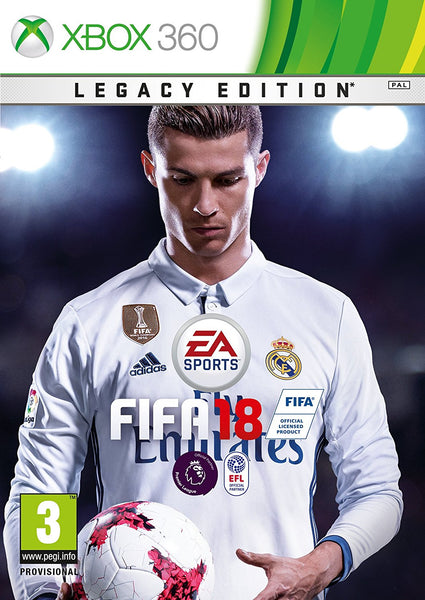 Fifa 18  - Xbox 360 - Legacy Edition - Video Games by Electronic Arts The Chelsea Gamer