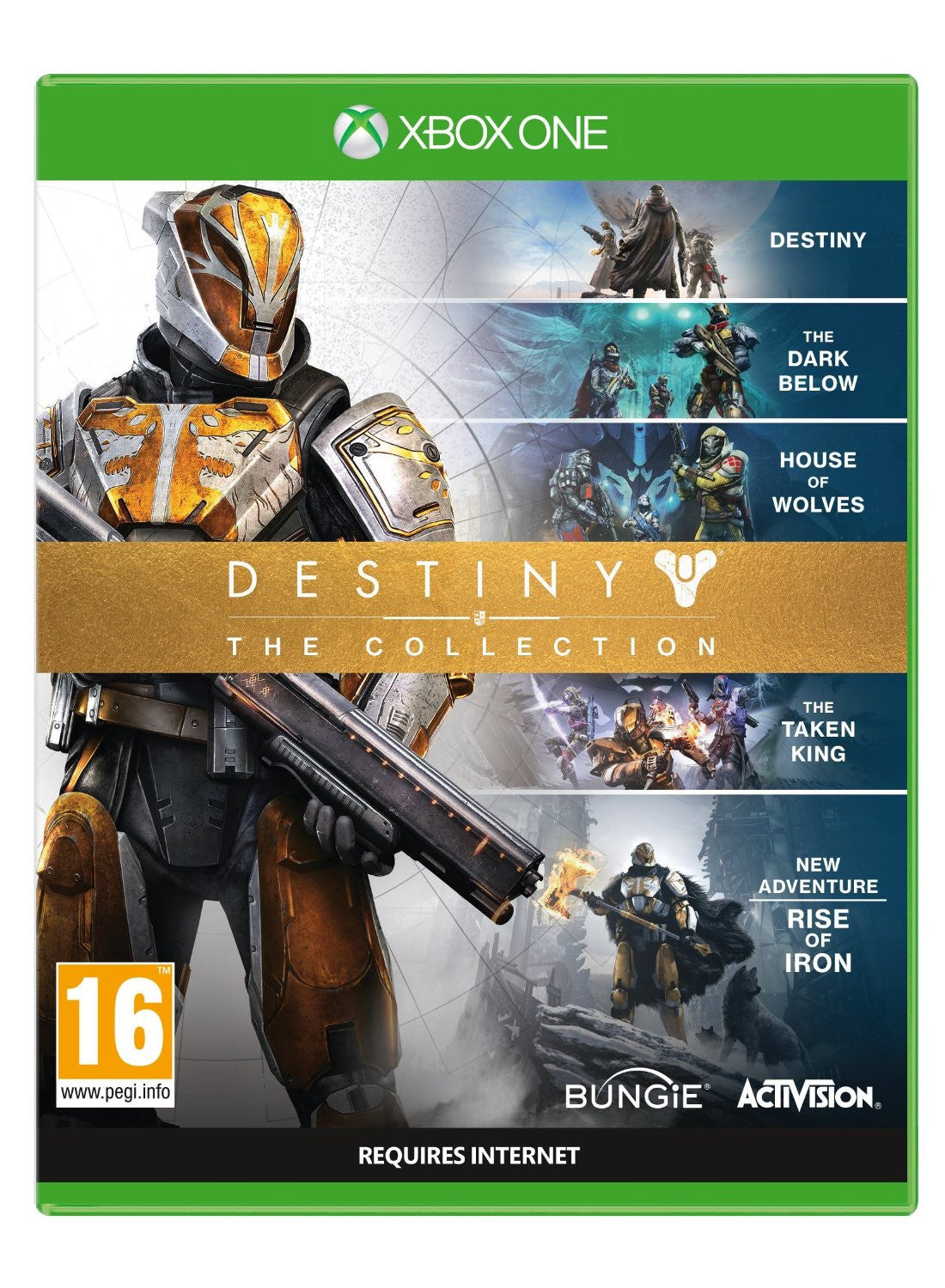 Destiny: The Collection PS4 - Video Games by ACTIVISION The Chelsea Gamer