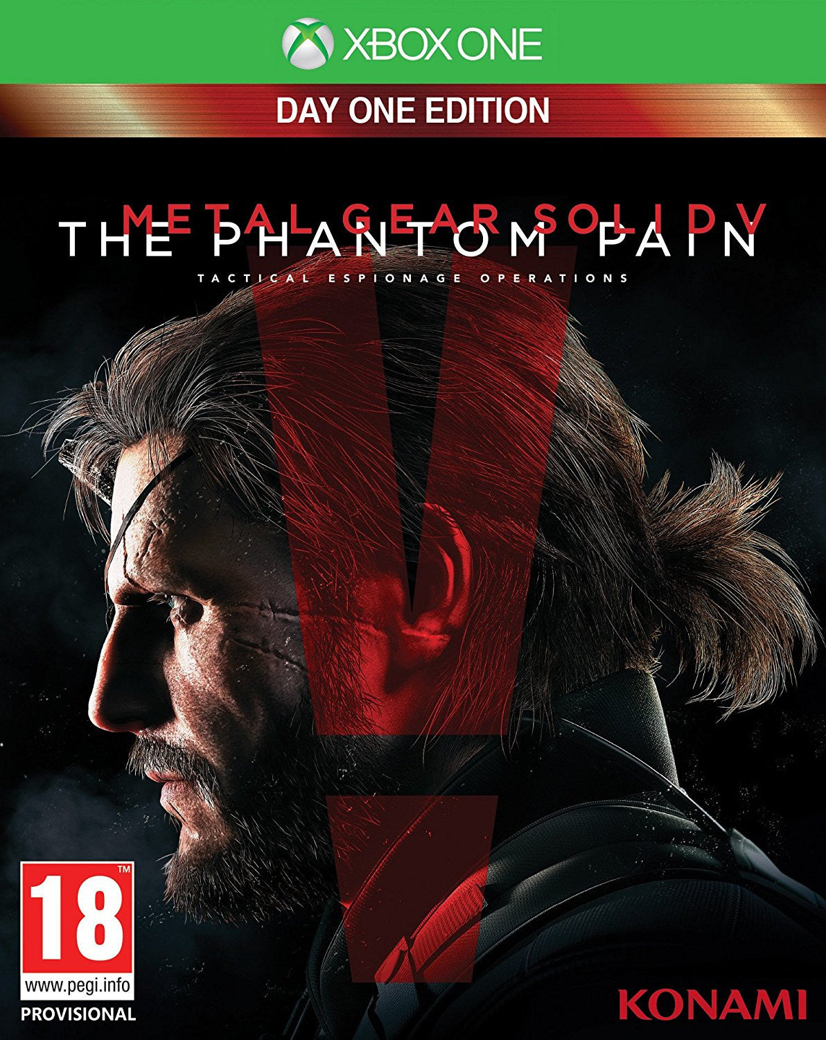 Metal Gear Solid V The Phantom Pain Day One Edition Xbox One Game