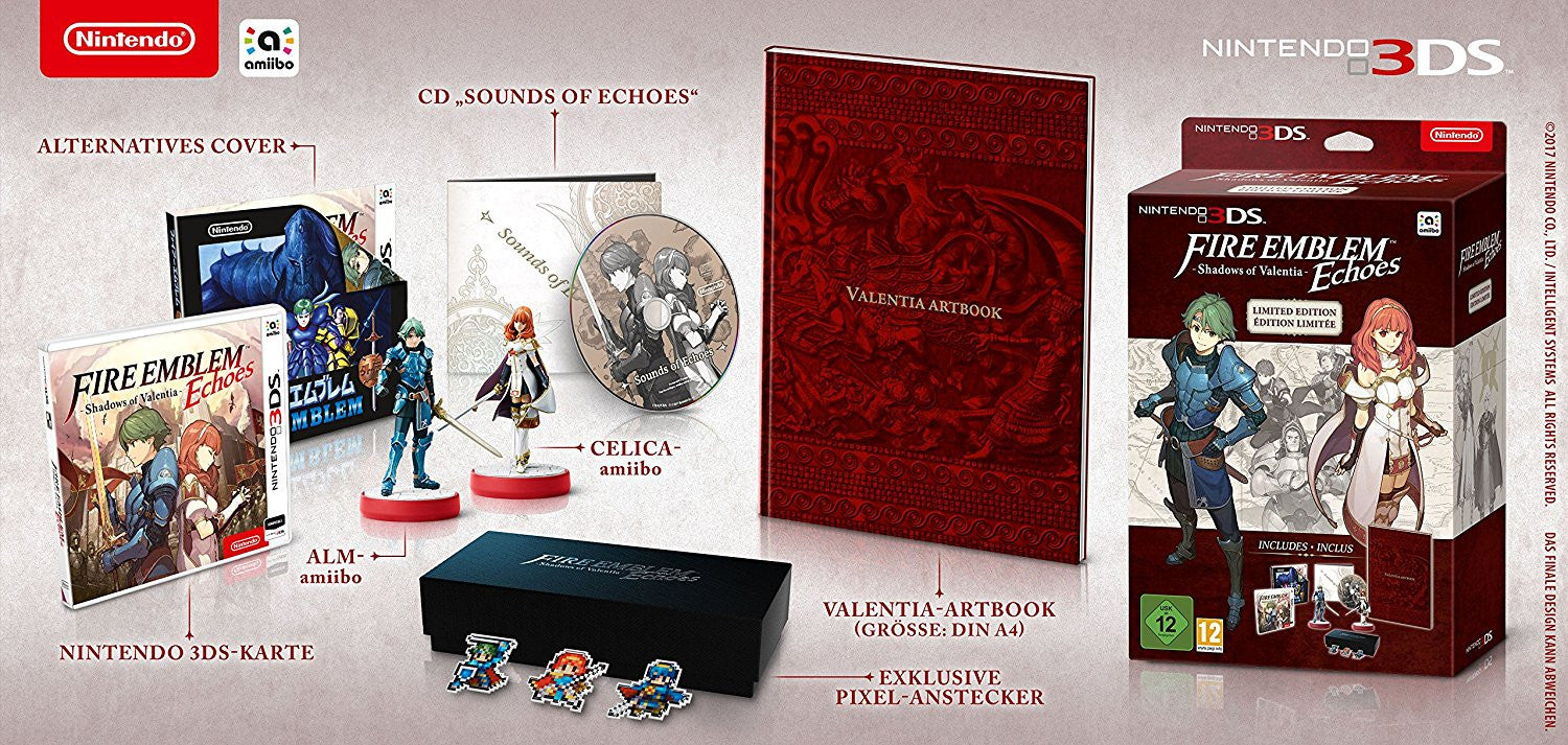 Fire Emblem Echoes: Shadows of Valentia - Limited Edition - 3DS