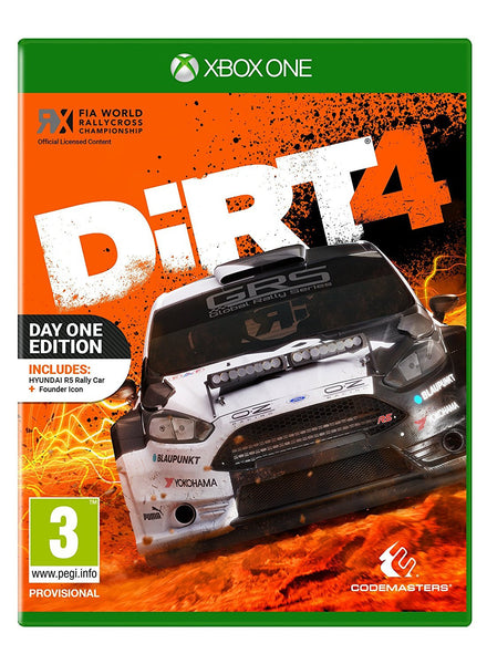 Dirt 4 - Day One Edition - Xbox One - Video Games by Codemasters The Chelsea Gamer