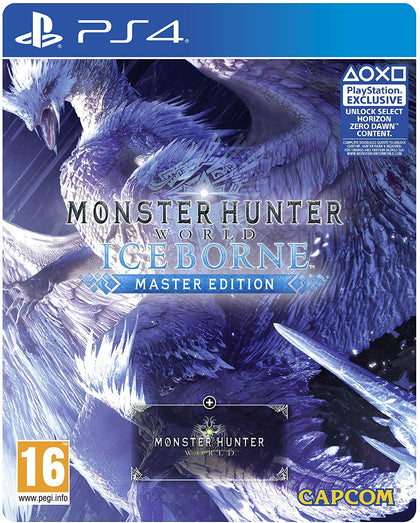 Monster Hunter World - Iceborne - Master Edition - Steelbook