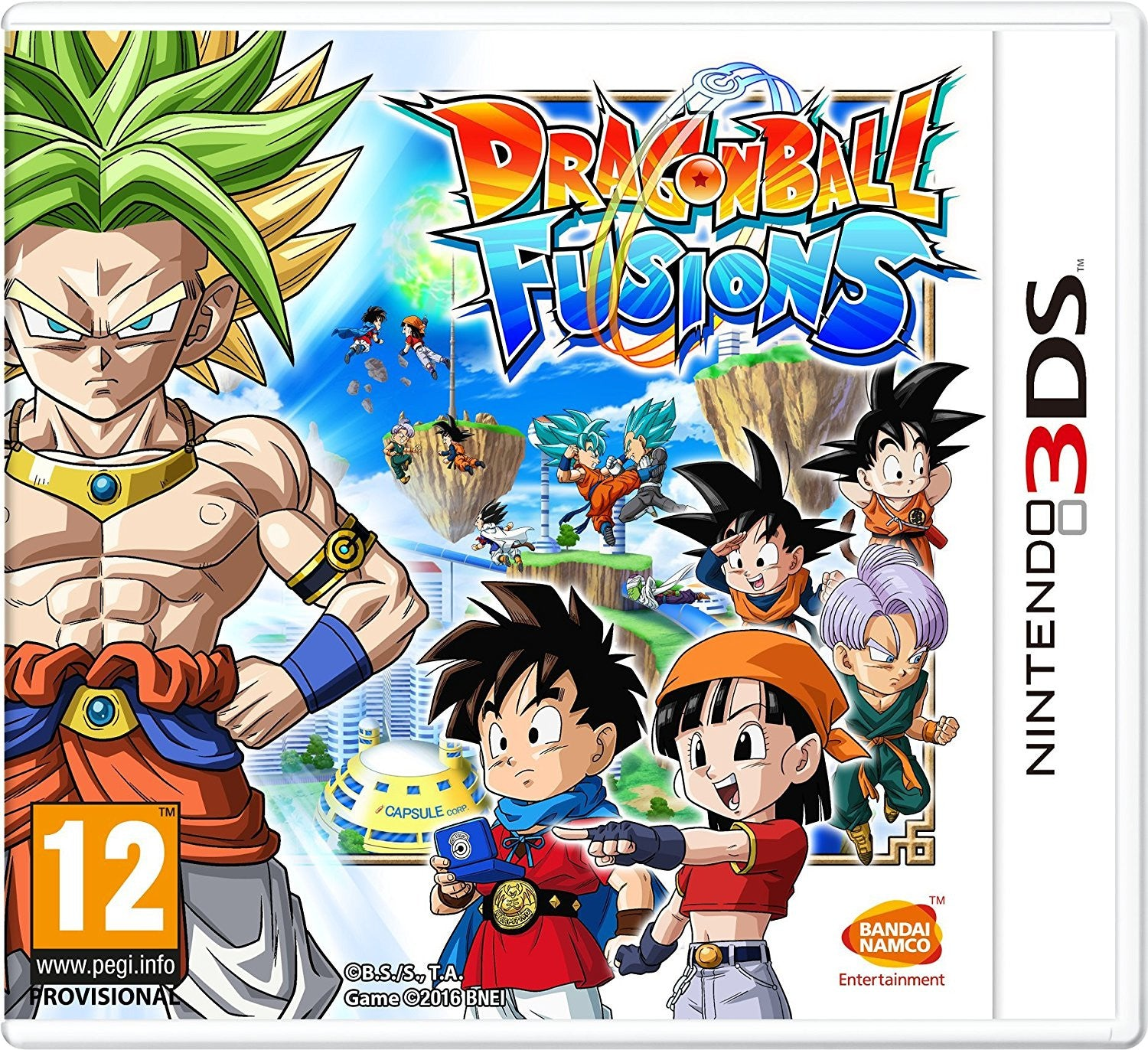 Drogon Ball Fusions - 3DS - Video Games by Bandai Namco Entertainment The Chelsea Gamer