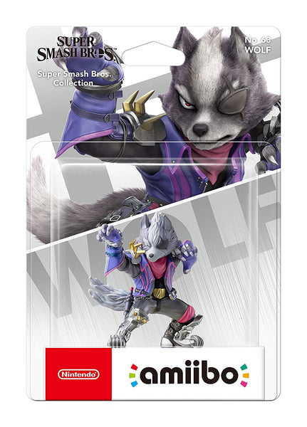 Super Smash Bros. Collection - Wolf amiibo - No 64