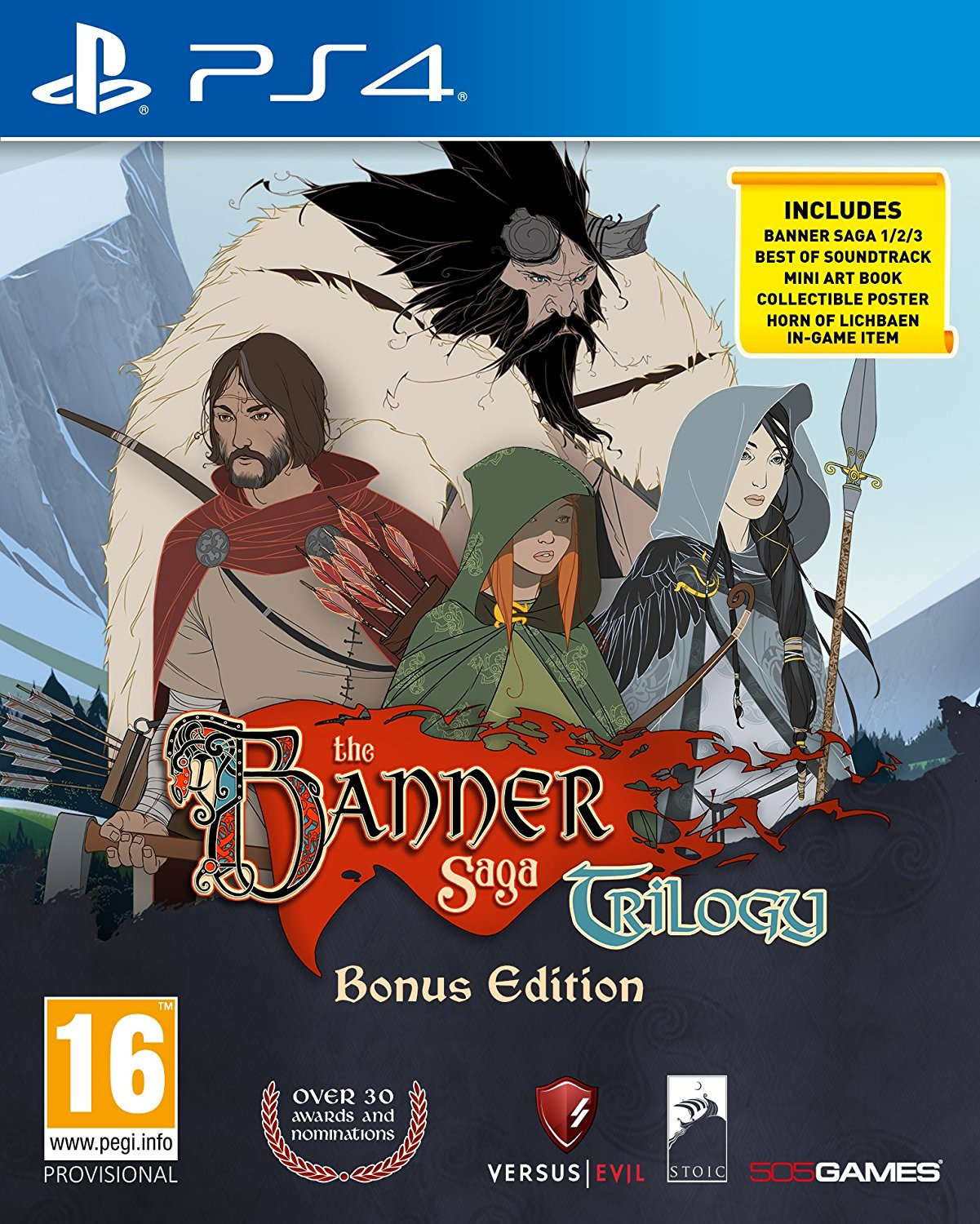 The Banner Saga Trilogy - Bonus Edition