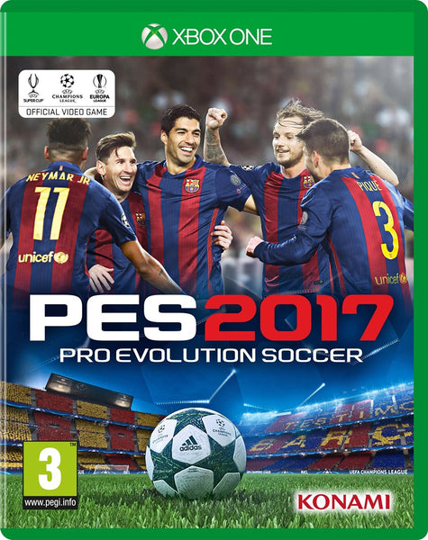 PES 2017 (Xbox One) - Video Games by Konami The Chelsea Gamer