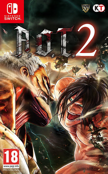 A.O.T. 2 - Video Games by Koei Tecmo Europe The Chelsea Gamer