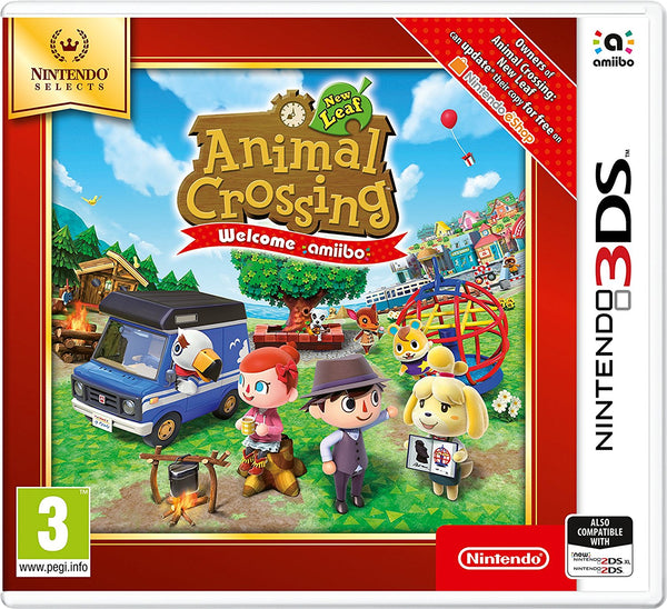 Animal Crossing New Leaf: Welcome Amiibo - 3DS Selects - Video Games by Nintendo The Chelsea Gamer