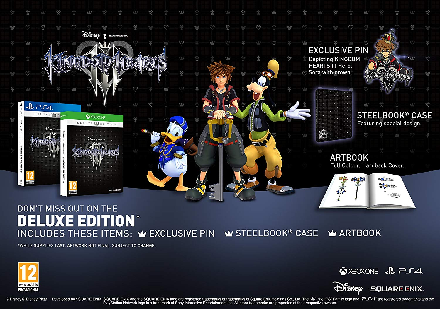 Kingdom of Hearts III - Deluxe Edition - PlayStation 4