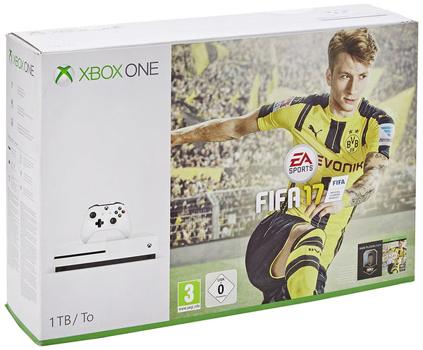 Microsoft Xbox One S - 1TB with FIFA17 - Console pack by Microsoft The Chelsea Gamer