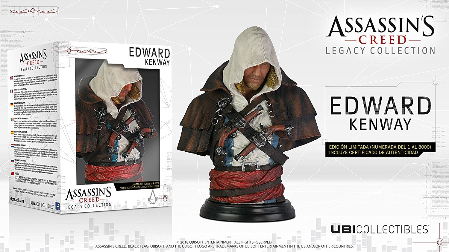 Assassin's Creed Legacy Collection: Edward Kenway Bust