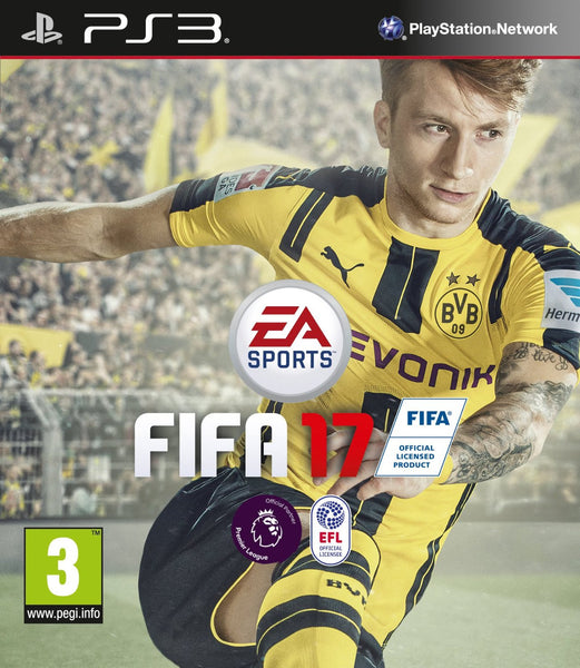 FIFA 17 - Standard Edition for PS3 - Video Games by Electronic Arts The Chelsea Gamer