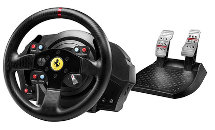 Thrustmaster T300 Ferrari GTE Official Force Feedback wheel (PS4/PS3/PC) - Console Accessories by Thrustmaster The Chelsea Gamer