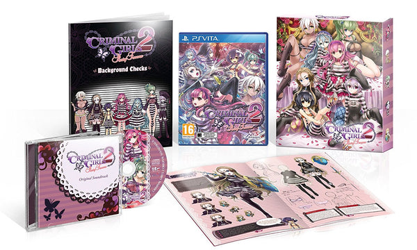 Criminal Girls 2: Party Favors (PlayStation Vita) - Video Games by NIS America The Chelsea Gamer