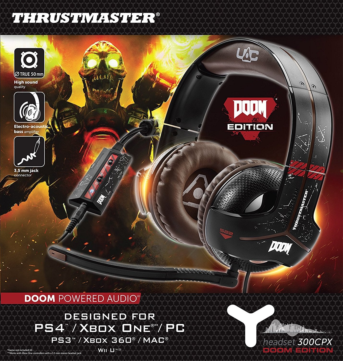 Thrustmaster Y-300CPX DOOM EDITION Gaming Headset