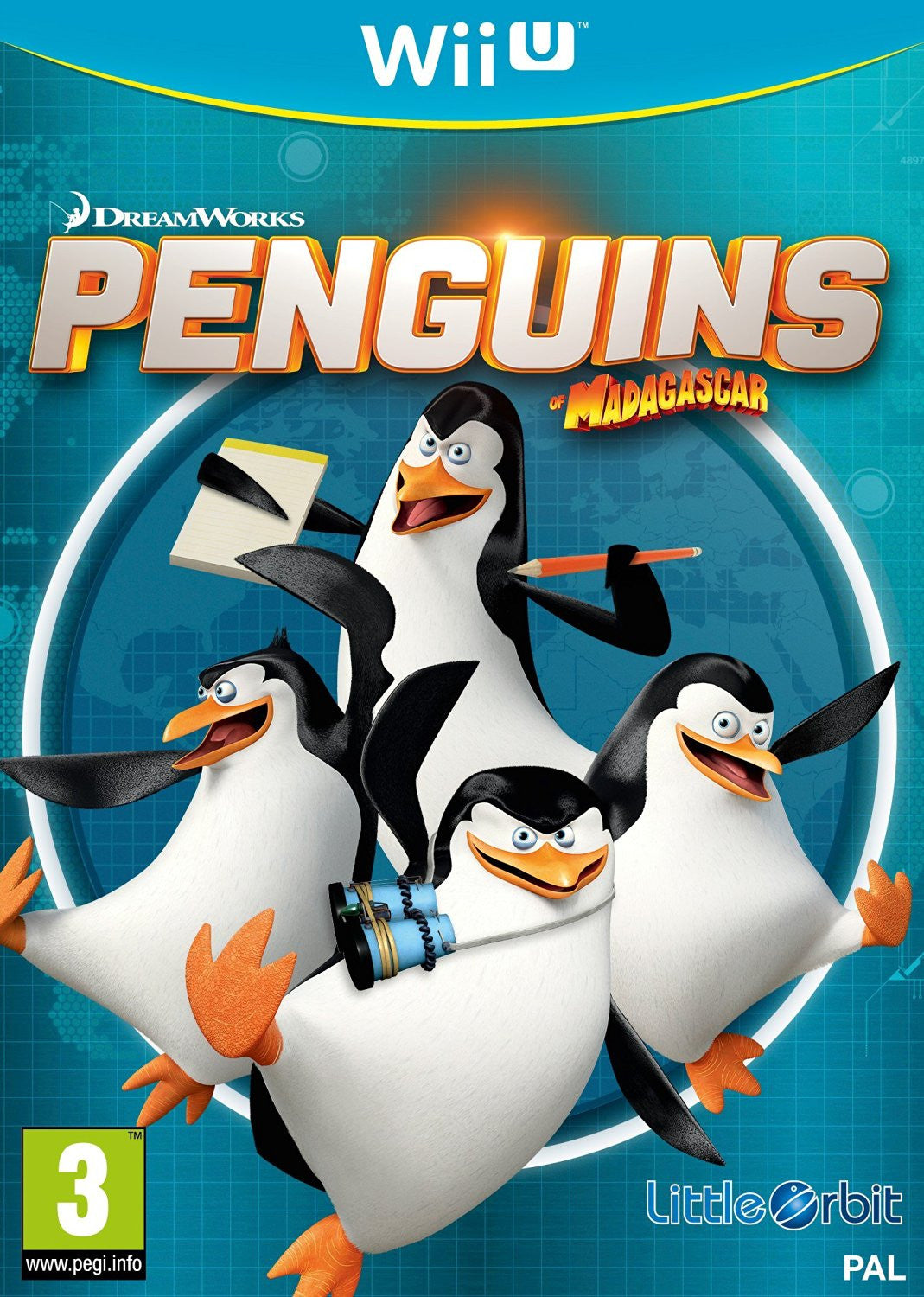 Penguins of Madagascar (Nintendo Wii U)