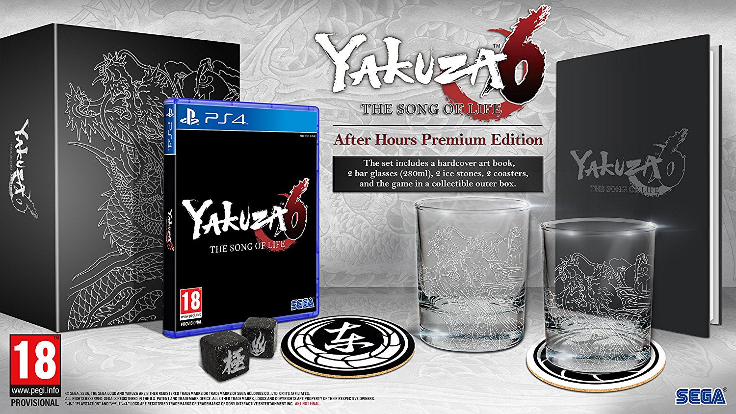 Yakuza 6 The Song of Life - After Hours Premium Edition - PS4