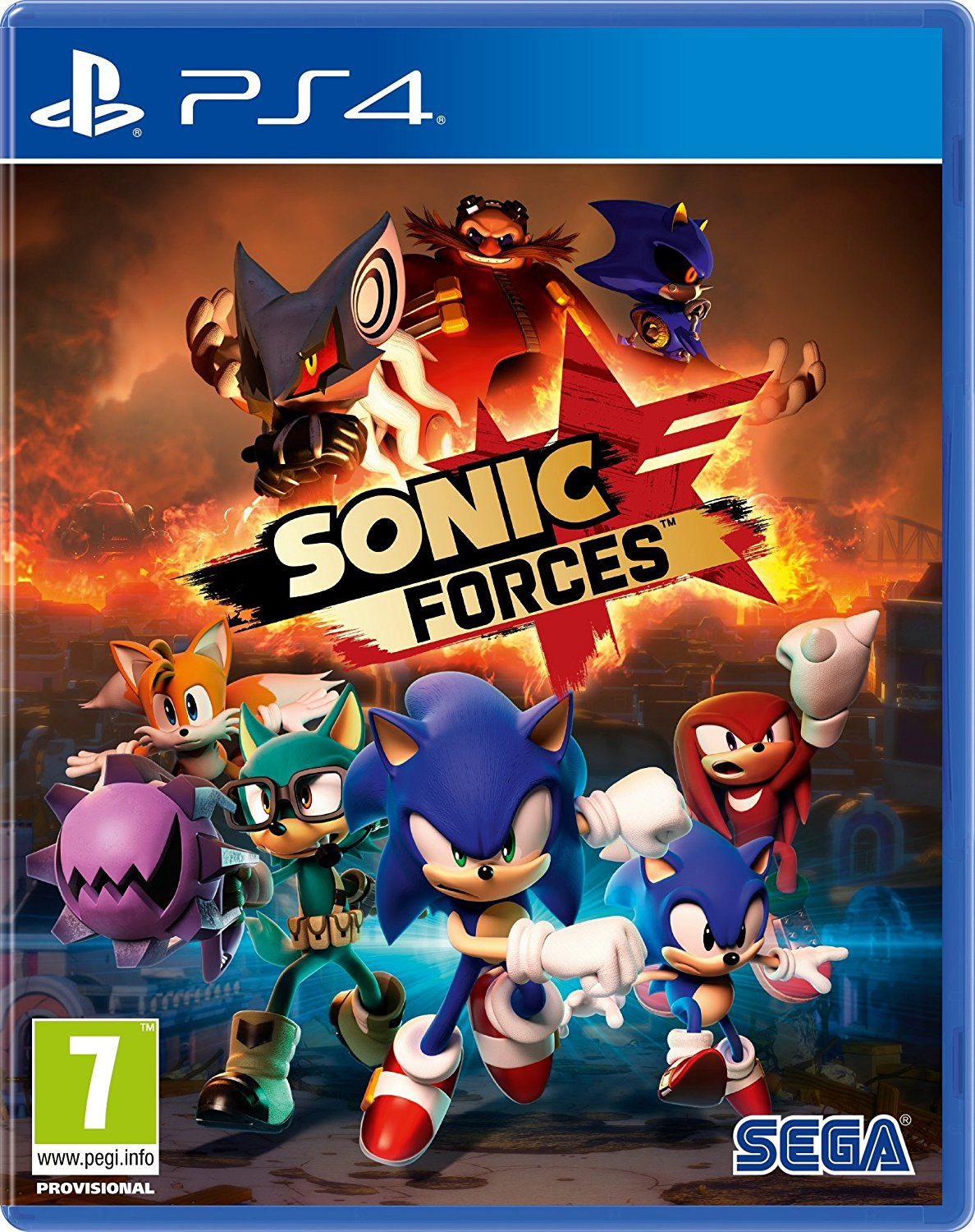 Sonic Forces - PS4 - Standard Edition