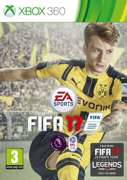 FIFA 17 - Standard Edition for Xbox 360 - Video Games by Electronic Arts The Chelsea Gamer