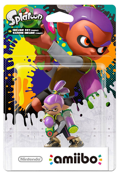 Splatoon Inkling Boy Purple Amiibo - Video Games by Nintendo The Chelsea Gamer
