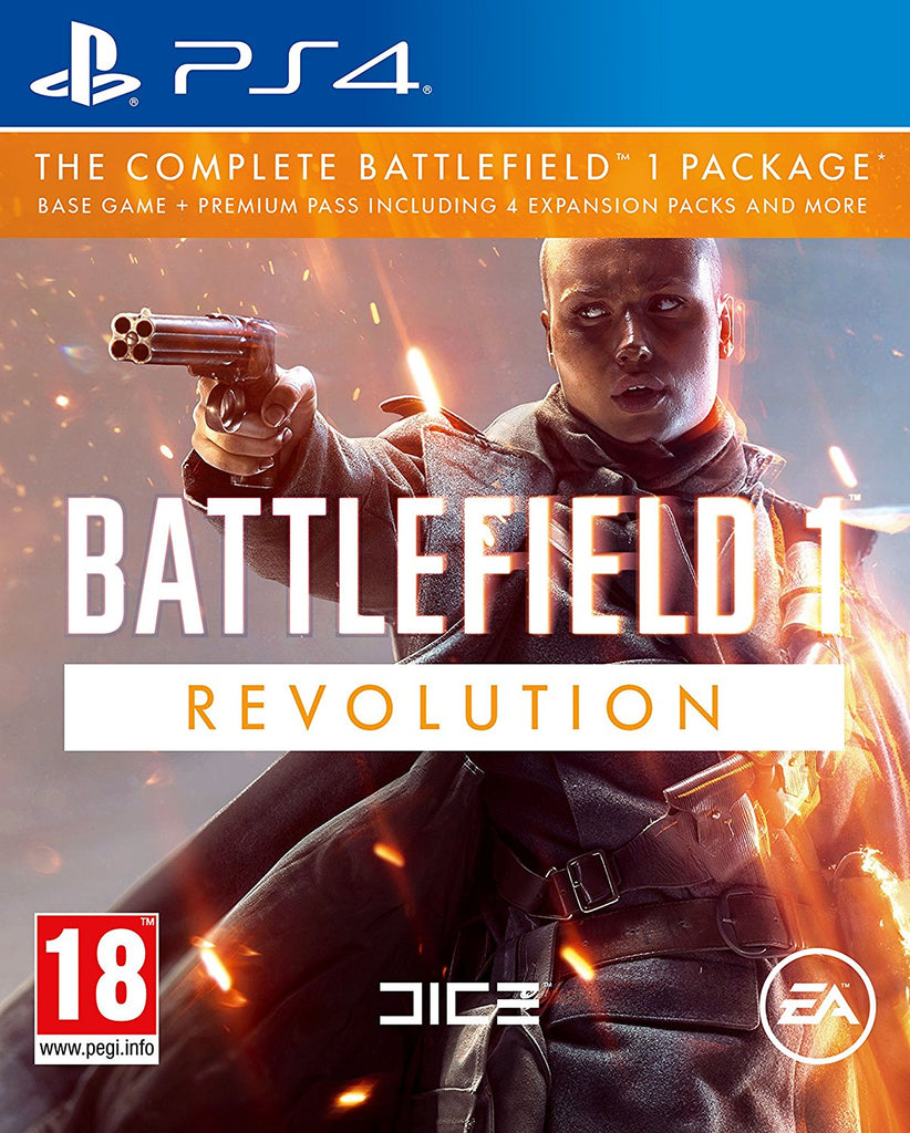 Battlefield 1 Revolution Edition - PS4 - Video Games by Electronic Arts The Chelsea Gamer