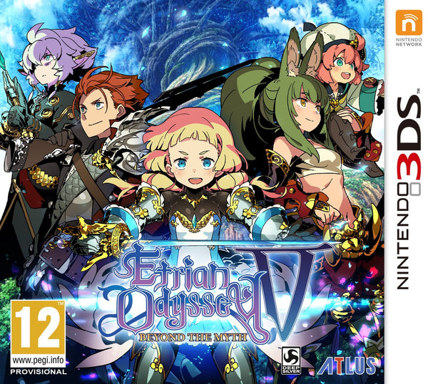 Etrian Odyssey: Beyond the Myth - 3DS - Video Games by Atlus The Chelsea Gamer