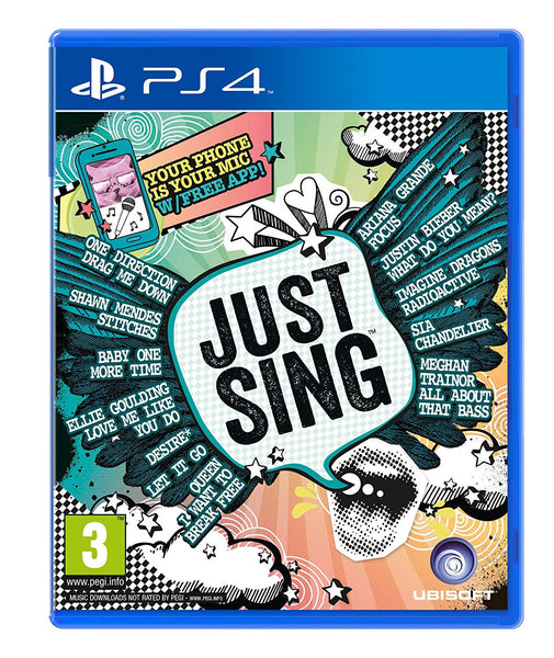 Just Sing PS4 - Video Games by UBI Soft The Chelsea Gamer