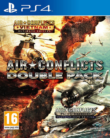 Air Conflicts Double Pack (PS4) - Video Games by Kalypso Media The Chelsea Gamer
