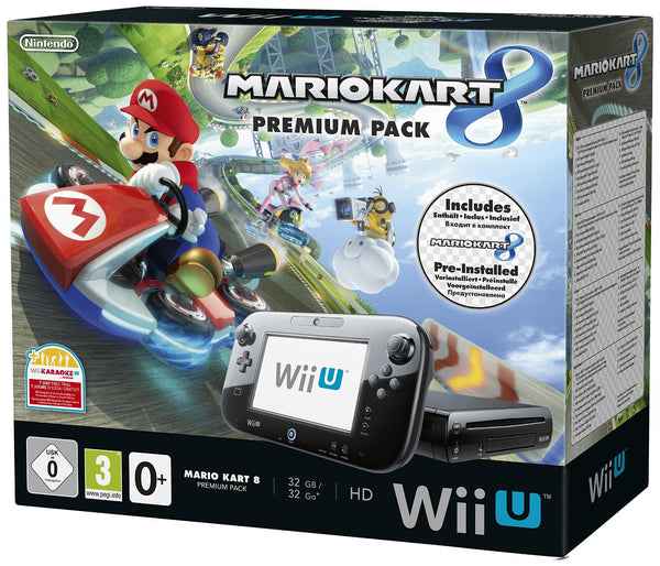 Nintendo Wii U 32GB Premium Pack with Mario Kart 8 - Console pack by Nintendo The Chelsea Gamer