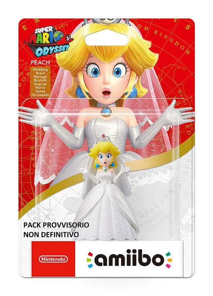 Super Mario Amiibo Wedding Peach