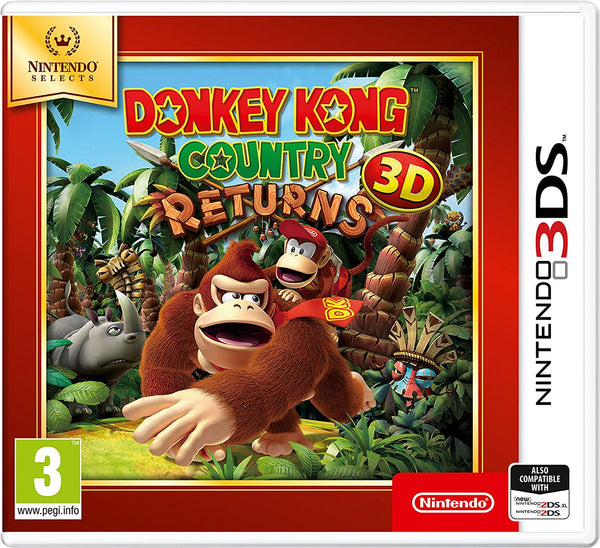 Donkey Kong Country Returns - 3DS Selects - Video Games by Nintendo The Chelsea Gamer
