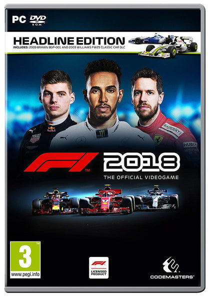 F1™ 2018 Headline Edition - Video Games by Codemasters The Chelsea Gamer
