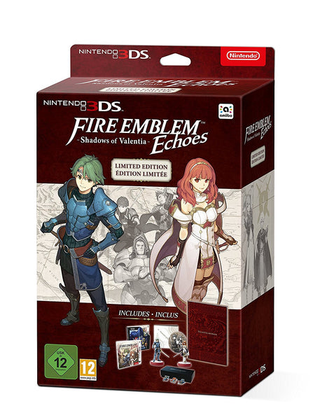 Fire Emblem Echoes: Shadows of Valentia - Limited Edition - 3DS - Video Games by Nintendo The Chelsea Gamer