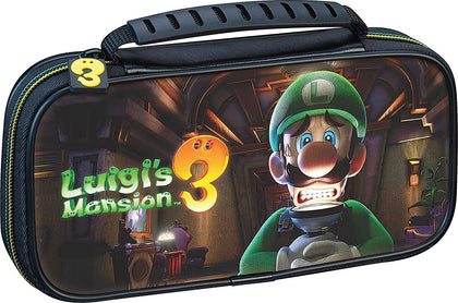 Game Traveller - Switch Lite Carry Case - Luigi's Mansion 3 Artwork