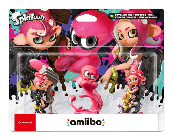 Octoling Amiibo Triple Pack